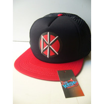 Gorras Dead Kennedys Estampadas Transfer! Punk Rock Ramones