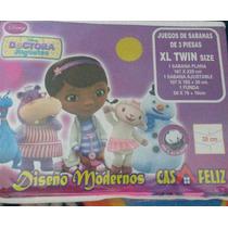 Sabanas Infantil Nena 3 Piezas Casatex 100% Algodón Dra