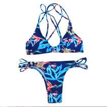 Bikinis Importadas Verano Moda 2016 2017 Flores Boho Chic