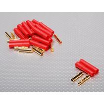Bullet Conector 4mm Con Protector Hobbie