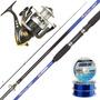 Equipo Pesca Variada Caña Cold Bay 2.25 + Reel Century 202
