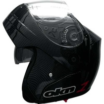 Casco Okinoi Rebatible Carbono Doble Visor En Freeway Motos!