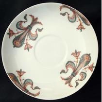 Bello Plato Decorativo Porcelana Francia Bourgeois Paris.