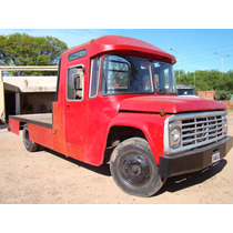 Ford 600 Chasis Con Cabina Motor Perquins
