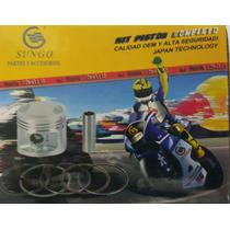 Kit Piston Y Aro 1.5 Suzuki Ax 100