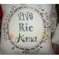 Almohadones Estampados/personalizados Deco/regalos 40x40