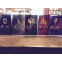 Saga Juego De Tronos 5 Libros Martin George Game Of Thrones