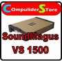 Potencia Sound Magus Vs1500.1 1500w Rms Estable A 1 Ohm