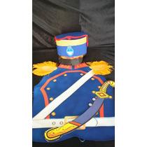 Disfraces Patrios Pechera Disfraz Granadero Sombrero Y Sable