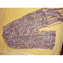 Bufandas Tejidas A Mano. Largas-varios Colores