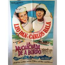 Afiche De Cine - La Muchachada A Bordo