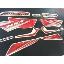 Calcos Honda Nx 400 Falcon Moto Roja