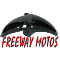 Guardabarro Delantero Honda Twister Negro Original Freeway !