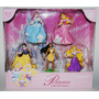 Disney Parks Set De 5 Figuras De Las Princesas Exclusivo!!!