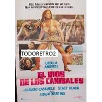 Afiche El Dios De Los Caníbales - Ursula Andress - 1978