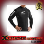Remera Larga Termica Rugby All Blacks