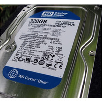 Disco Rigido Wd Blue 320 Gb Wd3200aajs Sata