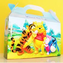 Cajita Golosinera Winnie The Pooh Pack X10 Valijita Infantil