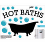 Vinilo Adhesivo Para Baño 21x29cm Mod Hot