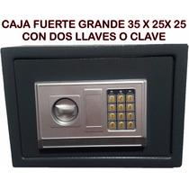 Caja Fuerte Digital Electronica Llave Seguridad Envio S/c*