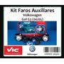 Kit X2 Faros Auxiliares Antiniebla Gol 3°/ Saveiro (00/05)