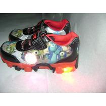 Zapatillas Con Luces De Monster Inc University, Oferta !