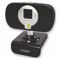 Webcam Camara Web Noganet Video Hd Mic 3 Leds Ngw6651
