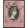 Malaya Selangor Colonia Britanica Serie 1v. Año1953 Usada