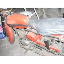 Moto Antigua Bgh Ferrari 125cc, Doble Encendido
