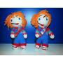 Llavero Chucky Tejido A Crochet