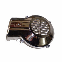 Tapa Motor Zanella V3 / Zanella Pocket Due Cromada- F2