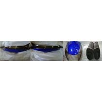 Combo Plasticos Honda Biz 125 Azul Con Gris - 2r