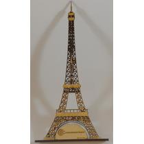 Figuras Fibrofacil Para Pintar - Corte Láser Torre 40 Cm