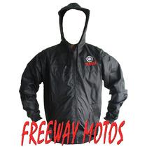 Campera Rompevientos Yamaha Fz Ybr Xtz En Freeway Motos !!