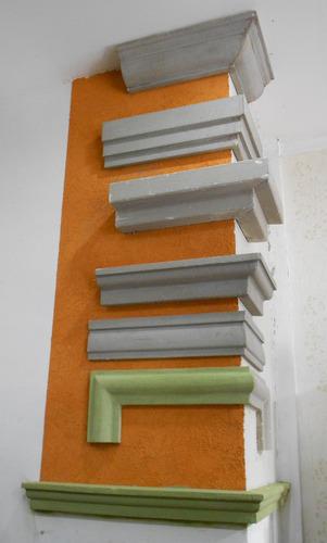 Molduras para exterior ma85 antepecho fachadas - Moldura madera pared ...
