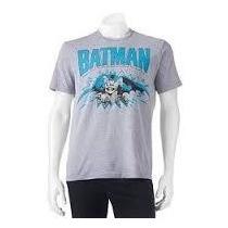 Remera Batman Dc Comics Original Talle L Importada Nueva!