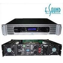 E-sound Vtx 1500 Amplificadores Con Display