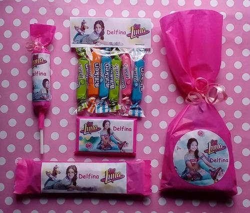 464522d44 Candy Bar 50 Golosinas Personalizadas Frozen Soy Luna Mickey $500 ...