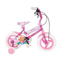 Bicicleta Niña Barbie Unibike Rod 16 Rueditas Apoyo 4a6 Años