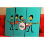 Cuadros Tripticos The Beatles Caricaturas - Musica Y Deco