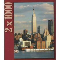 Rompecabezas Ravensburger Serie 2 X 1000: Nueva York