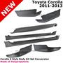 Toyota Corolla Alerón Spoiler Abs Lips Para Años 20009-2013-