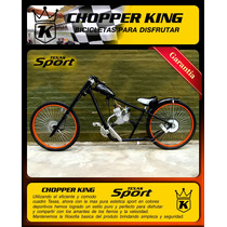 Bicimoto Chopper King Texas Sport Somos Fabricantes!