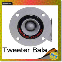 Tweeters Bala Cupula Titanio 200w Alta Potencia