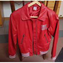 Campera High School Musical Disney Cuero Ecol.rojo T14