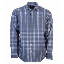 Camisa Manga Larga Brooksfield Sport Algodón Cuadros