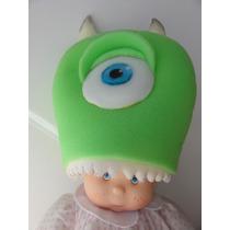 Gorros Goma Espuma Cotillón Personajes Mike De Monsters Inc