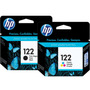 Combo Cartucho Hp 122 Negro + Color Original Ch561hl Ch562hl