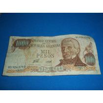 Billete Antiguo De 1.000 Pesos Porta - Diz Serie D