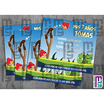 Angry Birds Kit Imprimible Personalizado Candy Bar Cumple